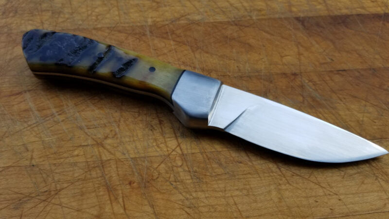 Novinc Knives - Raven model s/n 516 in CTS-XHP and Ram's Horn